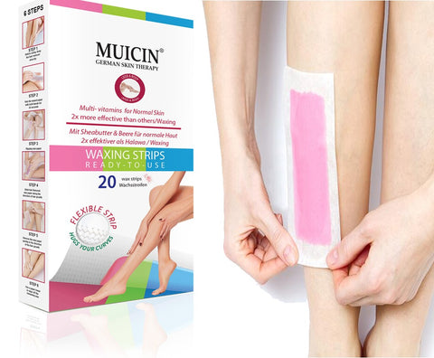 Muicin Hair Removal Wax Strips Pack Online @ Best Price in Pakistan