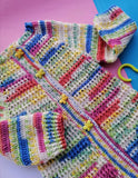 Hand Knitted Sweater Multi Colored Cardigan Online @ Best Price in Pakistan