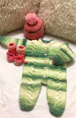 Hand Knitted Baby Romper Buy Online @ Best Price in Pakistan