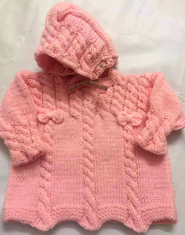 Hand Knitted Baby Sweater Hoodies Style Buy Online @ Best Price in Pakistan