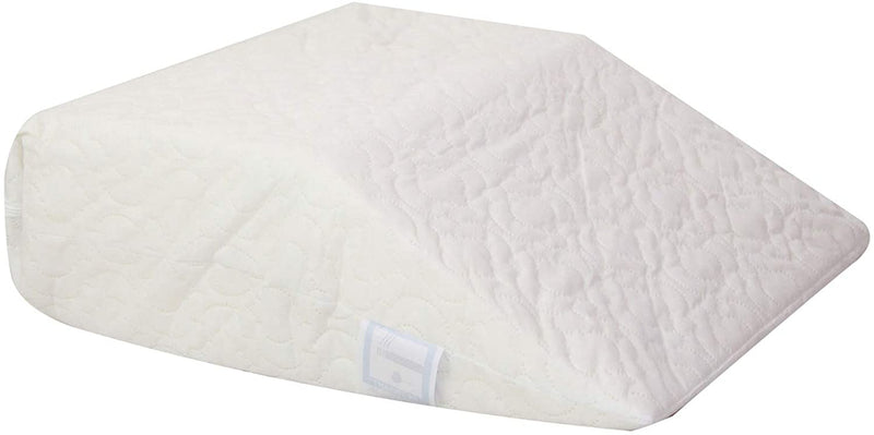 Wedge Leg Pillow Upholstery Foam Rest Pillow, Ideal for Surgery | Breathable & Washable Quilted Cover