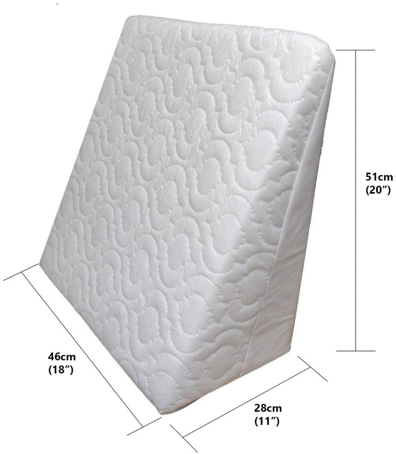 Multi Purpose Adult Comfort Pain Relief Back Support Foam Hypoallergenic Bed Elevate Wedge Pillow