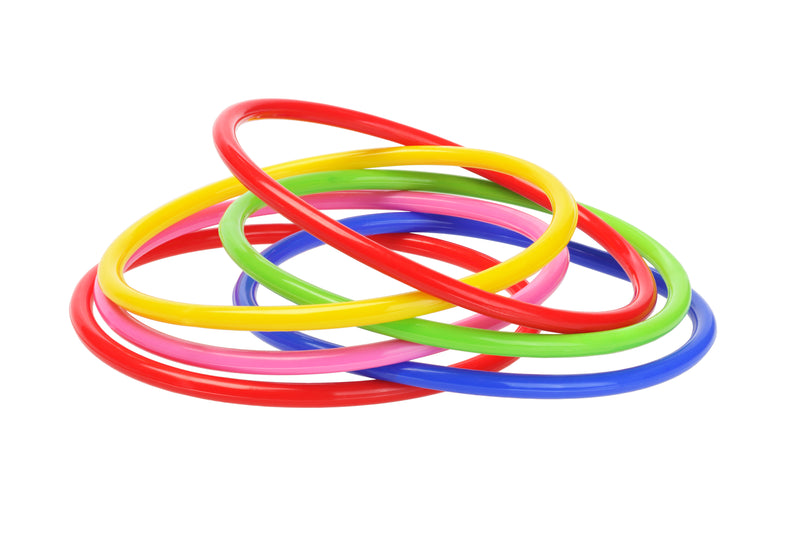 Olympic Colourful Hula Hoop Indoor Outdoor Fitness Assorted Colors Will Be Sent