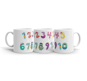 Kids Learn The Numbers Mug (Unbreakable)