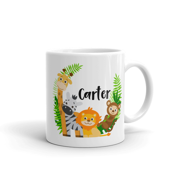 Kids Zoo Animal Mug (Unbreakable)
