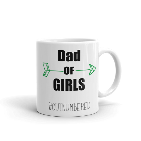 Dad Of Girls Ceramic Mug