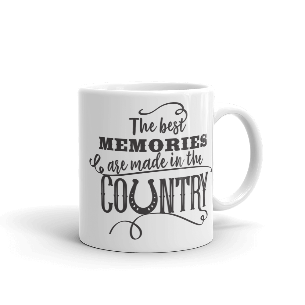 The Best Memories Are Made In The Country Ceramic Mug