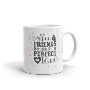 Coffee & Friends Ceramic Mug
