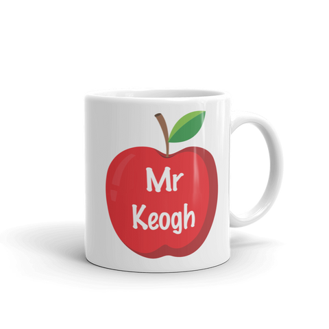 Apple Teacher Ceramic Mug