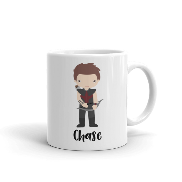 Kids Arrow Man Mug (Unbreakable)