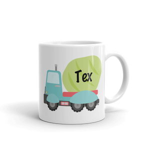 Kids Concrete Truck Mug (Unbreakable)