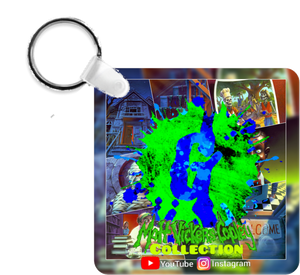 MVC -Covers Matt V-C Collection Green Blue Key Ring