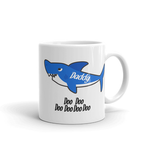 Daddy Shark Ceramic Mug
