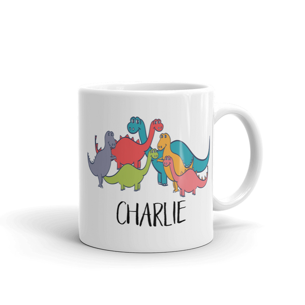Kids Dino Gang Mug (Unbreakable)