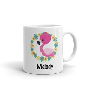 Kids Flamingo Wreath Mug (Unbreakable)