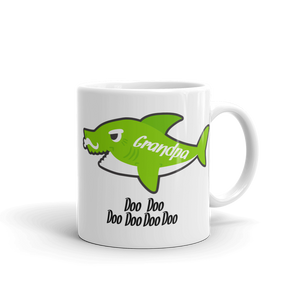 Grandpa Shark Ceramic Mug