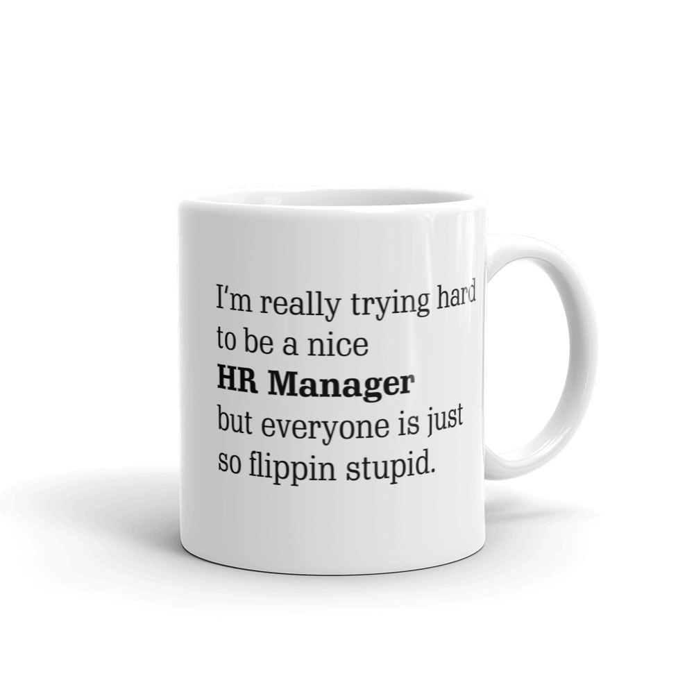 HR Manager Ceramic Mug