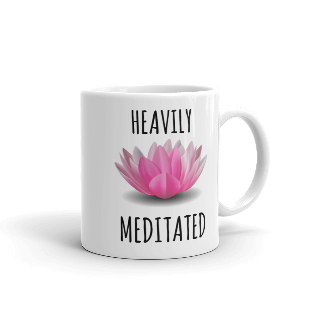 Heavily Meditated Ceramic Mug