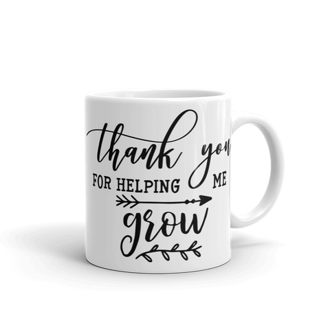Thank you for helping me Ceramic Mug