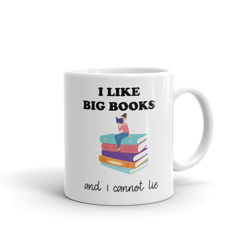 I Like BIG Books Ceramic Mug