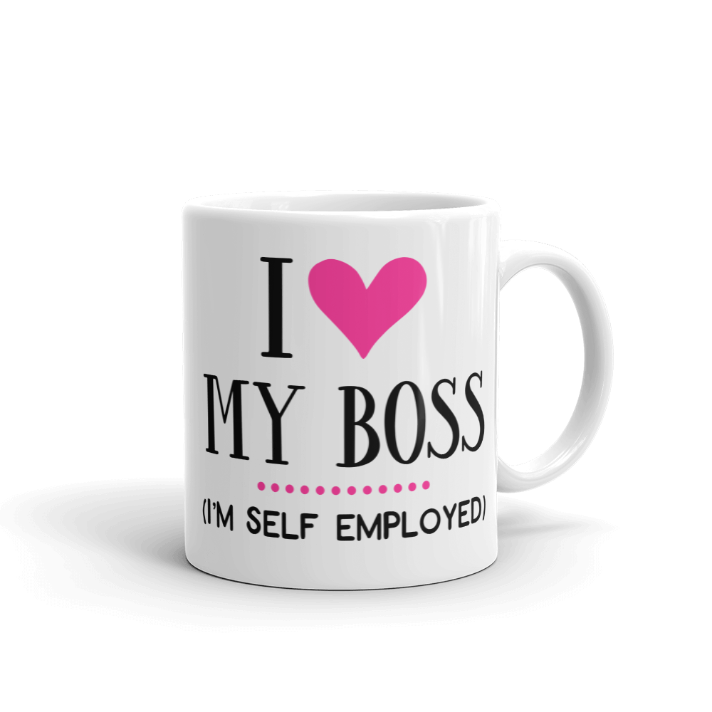 Self Employed Ceramic Mug