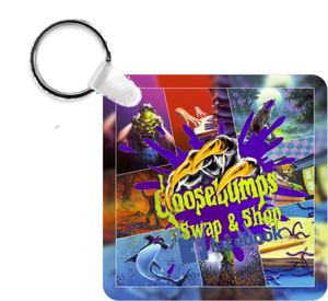 MVC - Covers Goosebumps Swap & Shop Keyring