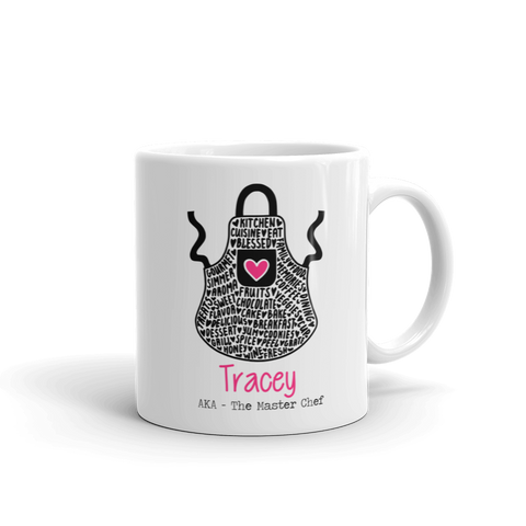Master Chef Personalised Ceramic Mug