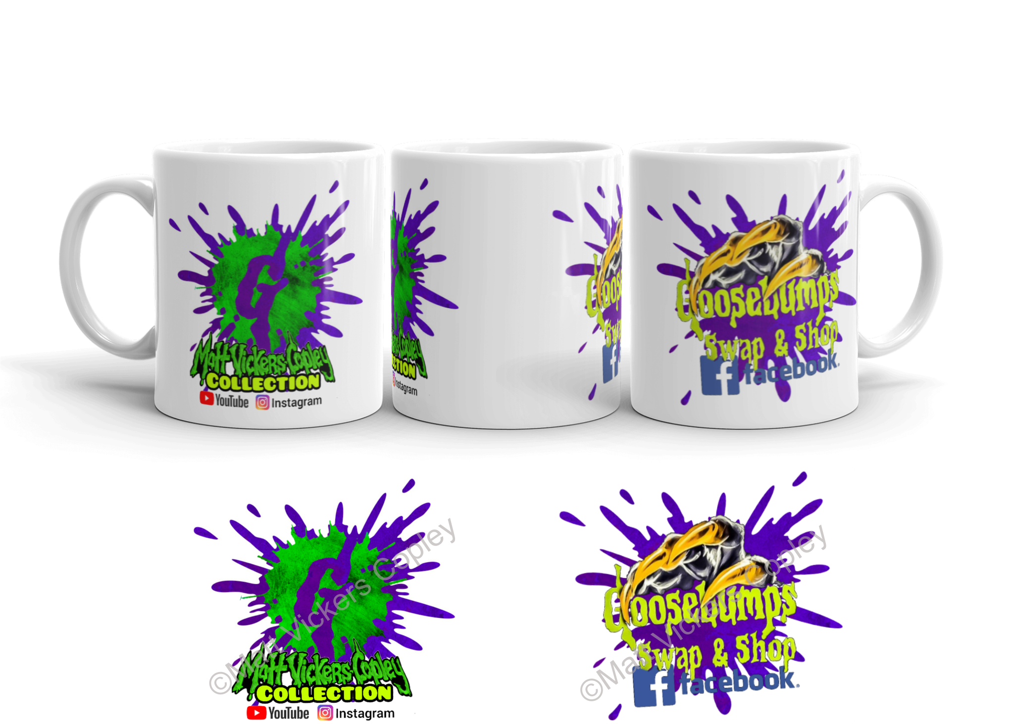 Matt V-C Collection Goosebumps Swap & Shop Mug #2
