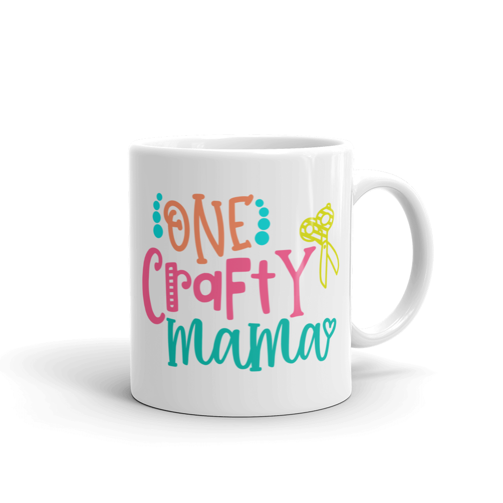 One Crafty Mama Ceramic Mug