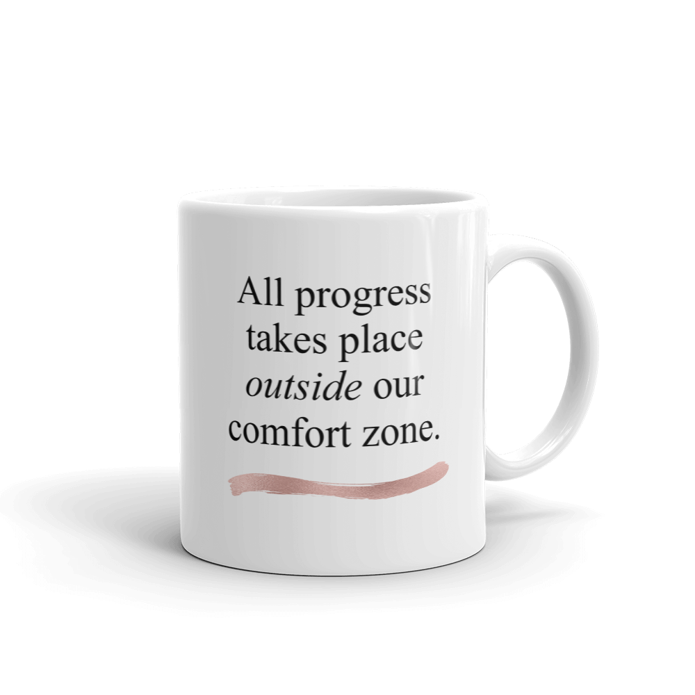 Outside our Comfort Ceramic Mug