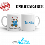 Kids Unbreakable Personalised Arthur Mug