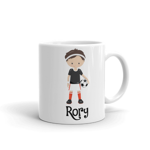 Kids Soccer Boy Mug (Unbreakable)