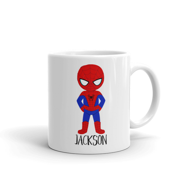 Kids Spider Guy Mug (Unbreakable)