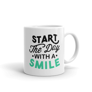 Start your day with a smile Ceramic Mug