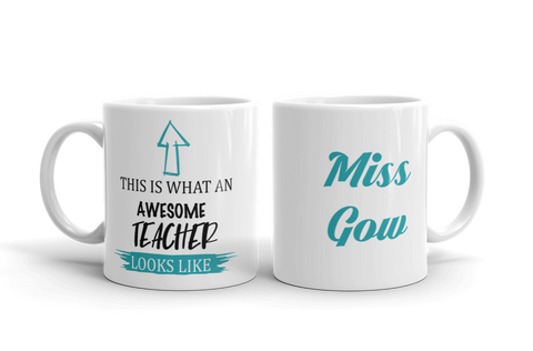 Awesome Teacher Ceramic Mug
