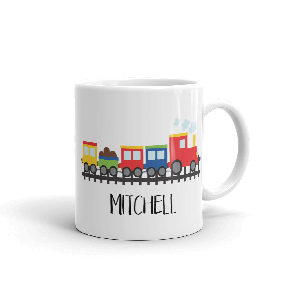 Choo Choo Train Mug (Unbreakable)