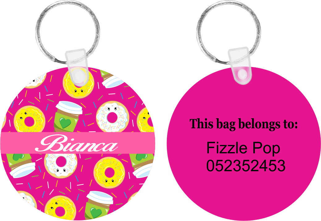 Donut Love Bag Tag