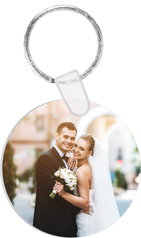 Aluminum Photo Keyring