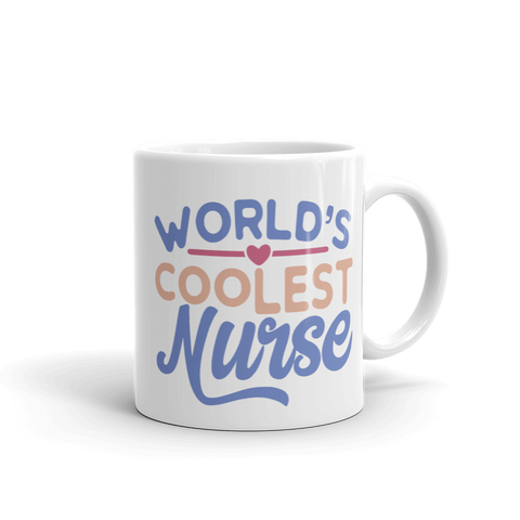 Worlds Coolest Nurse Ceramic Mug