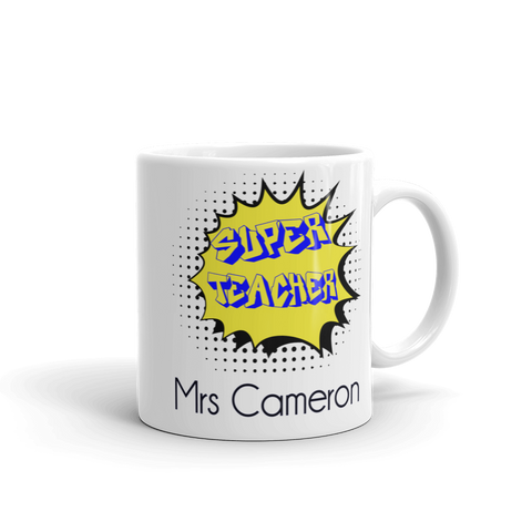 Super Teacher Ceramic Mug