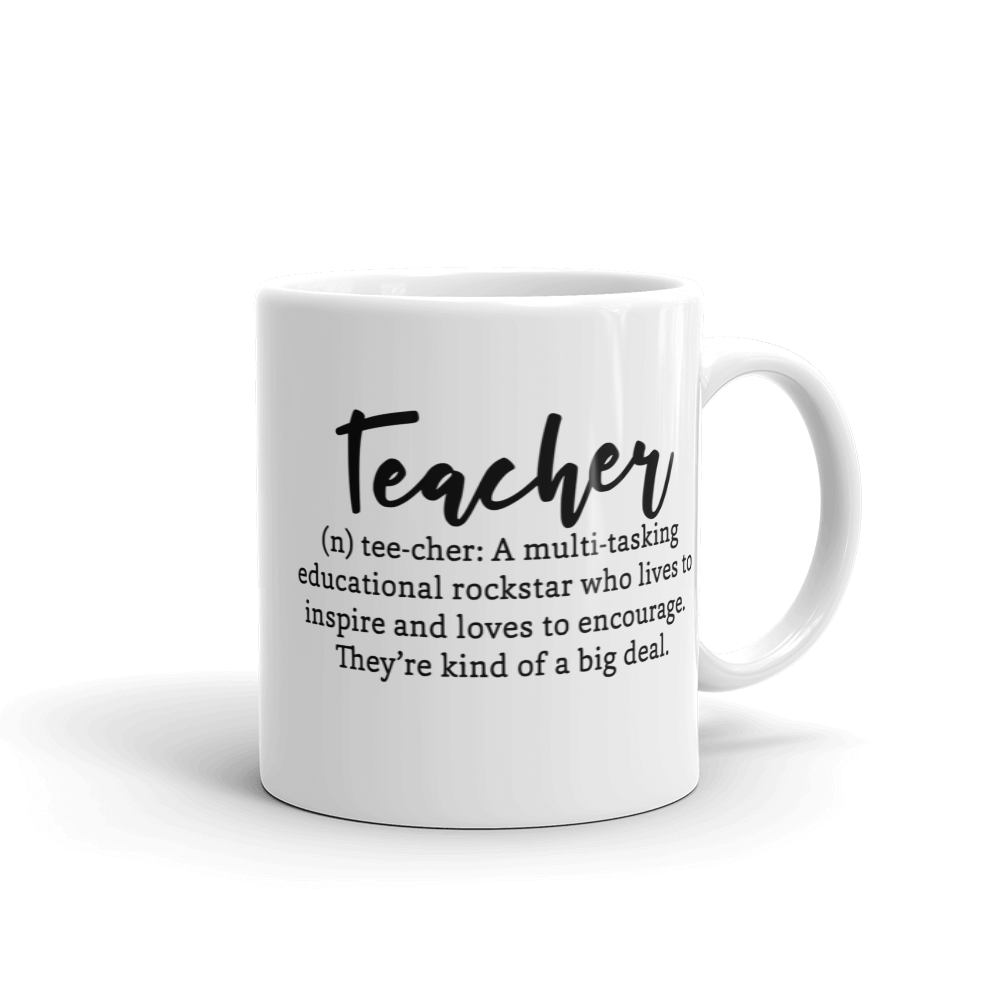 Teacher Definition Ceramic Mug