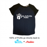 Kids Arthritis & Positive T-Shirts Woman's Tee