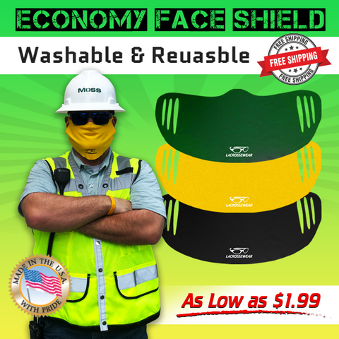 Economy Face Shield 2.0 (Minimum 10 Pieces) - Dynasty Athletics