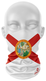Florida Flag Face Guard - Dynasty Athletics