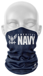 Navy Face Guard - Dynasty Athletics