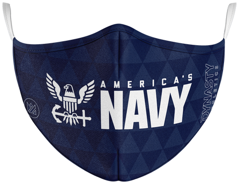 Navy Protect+ Face Mask - Dynasty Athletics