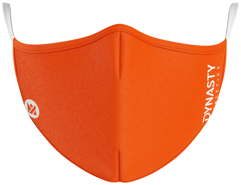 Orange Protect+ Mask - Dynasty Athletics