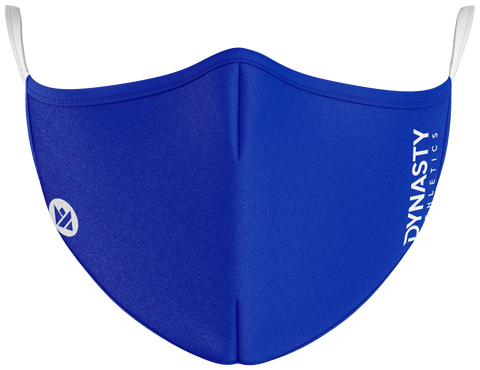 Blue Protect+ Mask - Dynasty Athletics