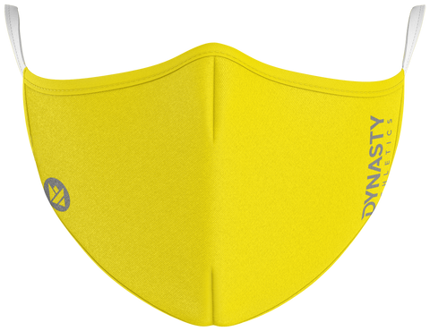 Yellow Protect+ Mask - Dynasty Athletics