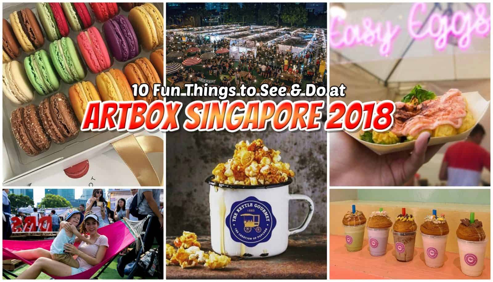 10 Fun Things to See and Do at the Amazing Artbox Singapore 2018